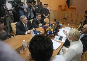 Тимошенко заявила, что в южных и восточных областях отключили 5 канал