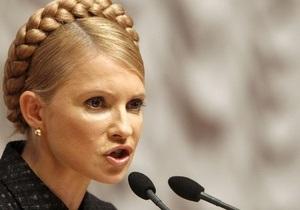 Тимошенко: Украина сократит потребление газа на 30%