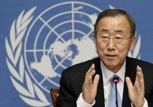 Пан Ги Мун призвал Совет Безопасности принять резолюцию по Сирии