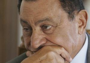 Мубарак заявил, что не уйдет в отставку (обновлено)