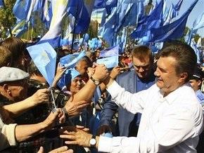 Янукович: БЮТ толкнул людей в холодную и голодную зиму