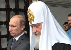 Патриарх Кирилл помолился о  мудром правлении  Путина