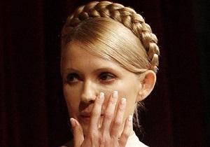Тимошенко заболела и не пришла на заседание оппозиционного Кабмина
