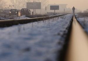 В России выпавший из вагона пассажир пробежал по морозу за поездом семь километров