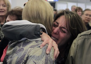 Самолет с украинцами на борту прилетел из Ливии