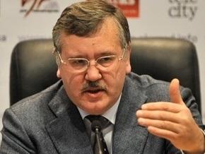 Гриценко: Досадно, что первые лица страны проигнорировали антисемитские заявления Ратушняка