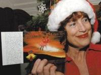 Умерший американец прислал поздравления с Рождеством с того света