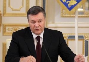 Янукович поздравил украинцев с Днем знаний