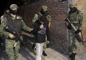 В Мексике арестовали 14-летнего киллера