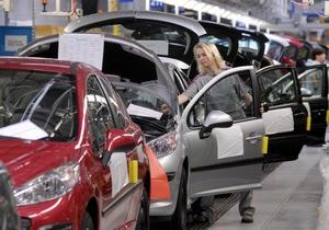 Peugeot ждет существенного снижения европейского авторынка в 2012 году