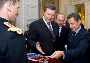 Журналист Би-би-си: Саркози дал Януковичу орден по ходатайству пророссийского депутата