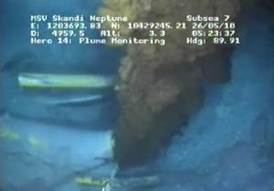 ВР начала цементировать аварийную скважину в Мексиканском заливе