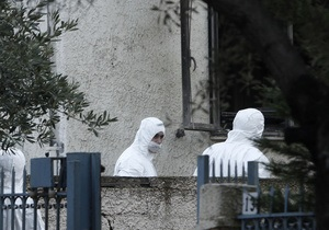 Возле дома зампрокурора в Афинах сработало взрывное устройство
