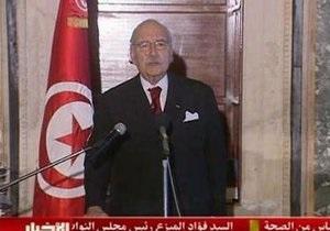 Премьер Туниса возглавил временное коалиционное правительство