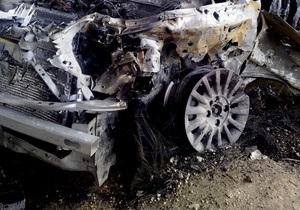 В Белой Церкви автобус въехал в припаркованный автомобиль: четверо пострадавших