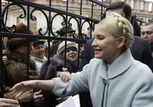 Сегодня Тимошенко вызывают в Генпрокуратуру