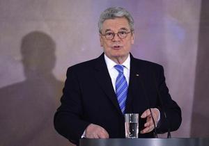Президент ФРГ: Россия должна соблюдать принципы правового государства