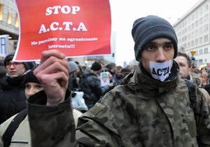 Власти Чехии приостановили ратификацию антипиратского закона