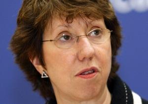 Кэтрин Эштон провела двухчасовую встречу с Мурси