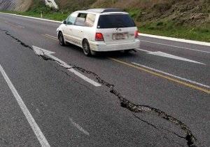 Новая Зеландия - Возле столицы Новой Зеландии произошло мощное землетрясение. Во всей стране остановлено железнодорожное и авиасообщение