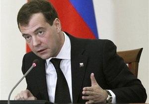 Медведев: Выборы в Беларуси являются ее внутренним делом