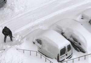 снегопад - Власти подсчитали предварительную сумму убытков от снегопада