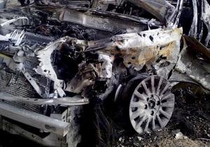 В Полтавской области в попавшем в ДТП автомобиле заживо сгорел судья