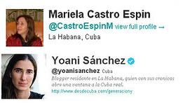 Дочь Кастро схлестнулась с правозащитницей в Twitter