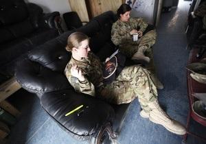 Женщины в армии США судятся с Пентагоном за право идти на фронт