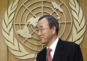 Пан Ги Мун подвел итоги года. ООН оправдывает операцию НАТО в Ливии и призывает к действию в Сирии
