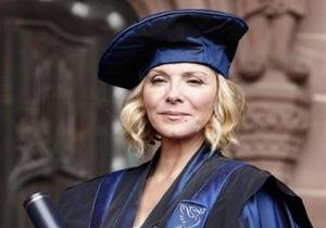 Звезда Секса в большом городе получила докторскую степень