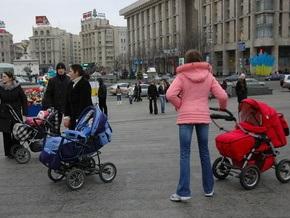 Большинство украинских семей не имеют детей