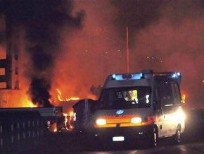 Число жертв взрыва цистерн с газом в Италии достигло 20 человек