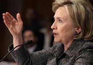Клинтон: США получили больше поддержки по санкциям против Ирана