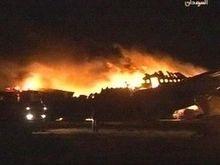 В аэропорту Судана загорелся приземлившийся самолет: 28  погибших (обновлено)