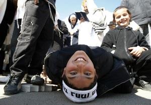 Фотогалерея: Новый год по-еврейски. Хасиды съехались в Умань