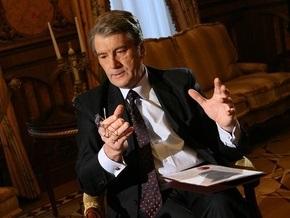 Ющенко запретил голосовать за Шамшура в пакете