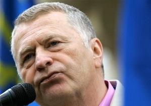 Жириновский: В день рождения гамбургера ЛДПР будет пикетировать McDonald s