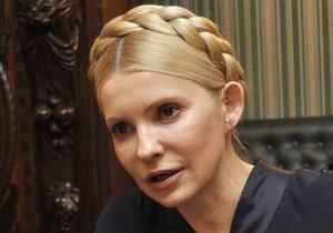 Тимошенко намерена оспорить отказ суда отпустить ее к матери