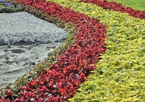 В Киеве открылась выставка цветов, посвященная 20-летию независимости Украины