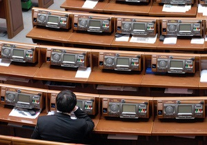 Верховная Рада приняла закон о правительстве Крыма