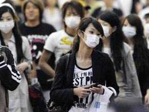 За последние сутки в Японии свиным гриппом заболели 63 человека