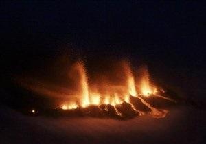 На юге Исландии объявлено ЧП из-за извержения вулкана