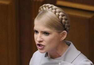 Партия регионов не хочет пускать Тимошенко в гостевую ложу Рады