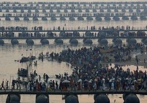 Индия - паломничество к реке Ганг