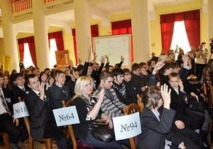 Киевским школьникам рассказали, как вести себя в интернете