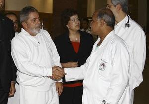 Президента Бразилии госпитализировали с гипертоническим кризом