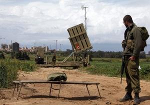 Батарея ПРО близ Тель-Авива перехватила палестинскую ракету
