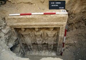 Чешские археологи обнаружили недалеко от Каира гробницу египетской принцессы