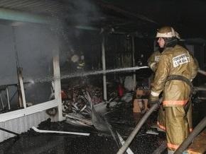 Во Львове потушили пожар на Левандовке